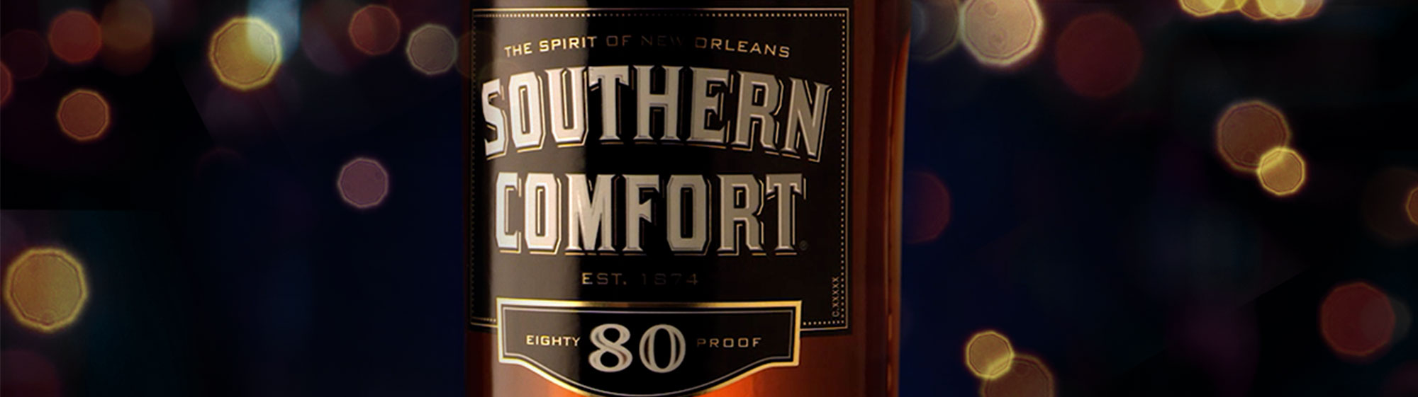 Southern comfort 80 proof secondary