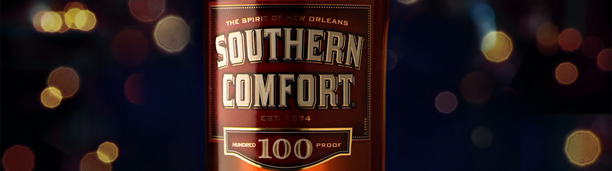 Southern comfort 100 proof secondary